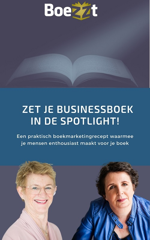 Handleiding Boekmarketing. recept voor boekpromotie